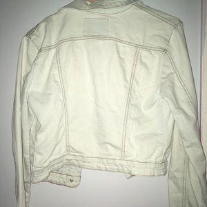 American Rag Jackets & Coats - White jean jacket